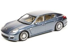 Minichamps Porsche Panamera Diecast Model Car This Porsche Panamera S Diecast Model Car is Metallic Grey and has working wheels and also comes in a display case. It is made by Minichamps and is scale (approx. This model comes in Dealer Packaging. Porsche Models, Porsche Panamera, Diecast Model Cars, Electric Motor, Display Case, Motor Car, Scale Models, Wheels, Metallic