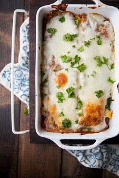 Roasted Pumpkin and Smoked Blue Cheese Lasagna
