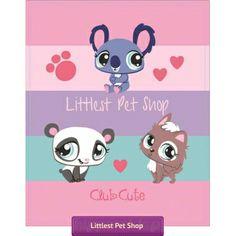 Koc polarowy Littlest Pet Shop
