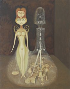 Victor Brauner. Nude and Spectral Still Life. 1939