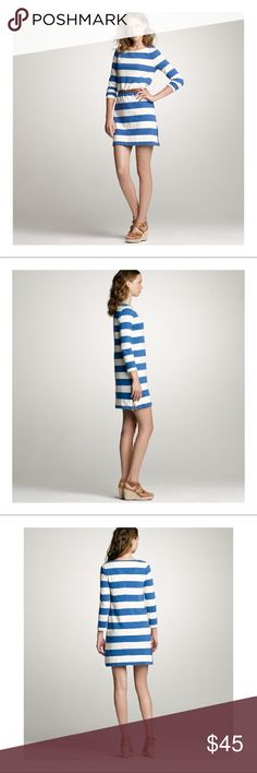 RARE J.CREW MARITIME/RUGBY STRIPED DRESS SZ XXS This is a SOLD OUT & DISCONTINUED J.CREW Maritime/Rugby Striped dress in the size XXS.   Made out of cotton.   Details include two (2) side zippers.   As seen on celebrities like Sarah Paulson from AHS!   Has been worn but is in excellent condition.   Original Price: $88.  Offers Welcome!  #jcrew #j.crew #striped #stripeddress #maritime #maritimedress #jcrewdress #j.crewdress #jcrewmaritime #rugbystripe #rugbystriped #j.crewmaritime #dress…