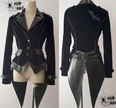 Cool Fashion Jacket Coat Punk Gothic Nana Visual Kei Japan Fashion Free Shipping | eBay