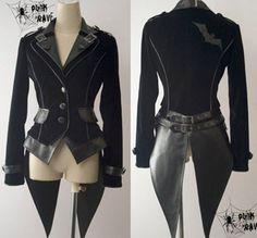 cool fashion jacket coat punk gothic NANA visual kei Japan fashion Free shipping