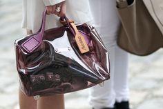 Acne Transparent Bag