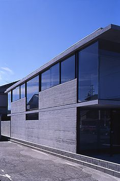 House in Board Formed Concrete, Garage Doors, Outdoor Decor, House, Home Decor, Decoration Home, Home, Room Decor, Home Interior Design