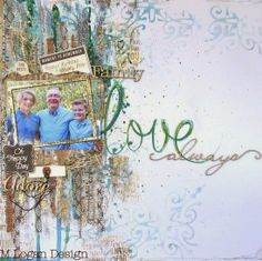 ML Design: Ink, Paint, Stamp & Paper Bliss: A Romantic Month at Scrap FX