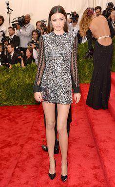 Miranda Kerr from 2015 Met Gala Arrivals