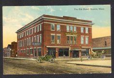 Austin-MN-The Elk Hotel-Postcard | eBay