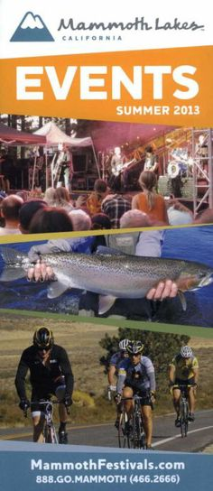Lakes Events Guide for Stuff To Do, Things To Do, Visit San Diego, Brochure Online, Mammoth Lakes, Transportation Services, Brochures, Attraction, California