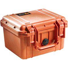 Pelican 10.1 in. Protector Case with Pick N Pluck Foam in Orange