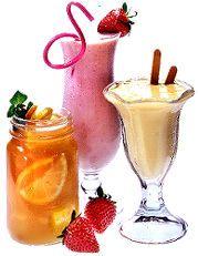 1 cup orange juice  4 scoops vanilla frozen yogurt  blend the orange juice and frozen yogurt until creamy.