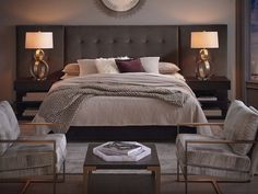 7 Bassett Bedroom Set Ideas That Create A Cozy Room Bedroom Bassett Bedroom Sets Ideas can be found online and locally, or at your local bookstore. There are some really cool, large themed Bassett Beds set idea. Bedroom Sets, Bedroom Decor, Master Bedrooms, Bedroom Furniture, Bed In A Bag, Cozy Room, Upholstered Beds, Luxury Bedding, Decoration