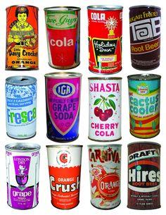 Vintage Advertisements, Vintage Ads, Orange Soda, Pop Cans, Pop Bottles, Mountain Dew, Seafood Restaurant, Logo Food, Bottle Caps