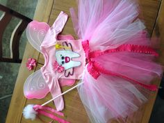 Afton's tooth fairy costume :)