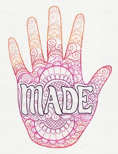 Hand Made | Urban Threads: Unique and Awesome Embroidery Designs