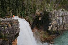 Brooks Falls, Monkman Provincial Park, Tumbler Ridge UNESCO Global Geopark