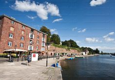 Exeter Quay Canvas Print