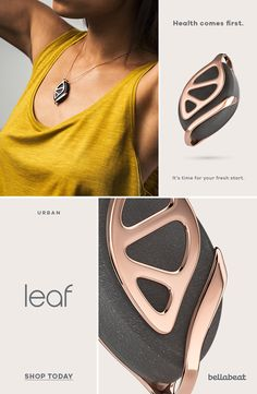 Leaf by Bellabeat Inner Peace, Things To Buy, Fitness Inspiration, Style Me, Jewelery, Jewelry Design, Happiness, Jewelry Making, Bling