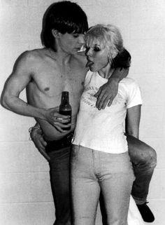 Iggy Pop and Blondie