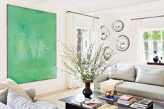 Julie Hillman designed living room