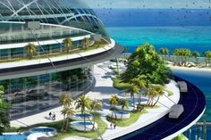Sea and new technologic of construction