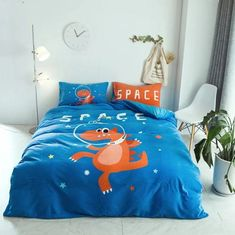 Your kids might fall in love with this one! Duvet Bedding Sets, Comforters, Space Dragon, Pink Blue, Duvet Covers, Pillow Cases, Flat Screen, Grade 2, Blanket