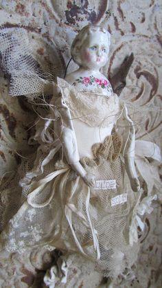 Fairy Angel Art Doll - Olde Soul - Christmas Ornament