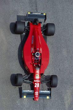 Gerhard Berger, Ferrari 640, 1989