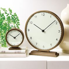 Find the perfect home accessories and home decor for your space at Ballard Designs! Bedside Clock, Small Clock, Fiddle Leaf Fig Tree, White Clocks, Personalized Towels, Floral Bedding, Acrylic Display, Clock Decor, Fabric Gifts