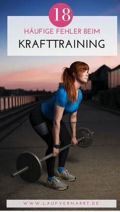 Die häufigsten Fehler, die Menschen beim Krafttraining und im Fitnessstudio begehen. Erfahre, wie du dich vor den schlimmsten Vergehen schützt!