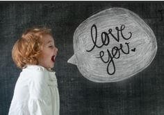 Chalkboard photograph background with chalk speech bubble
