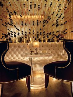**GILT Champagne lounge, located in London's Jumeirah Carlton Tower Hotel in the heart of Knightsbridge, offers a drink menu of 10 Champagnes, several specialty champagne cocktails as well as the typical bar drinks