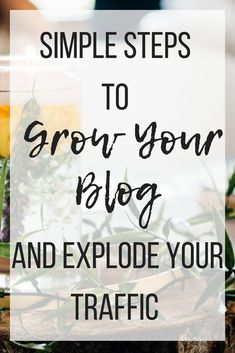 Simple steps to grow