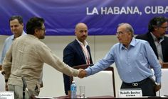 El gobierno colombiano y las FARC anunciaron este viernes en La…