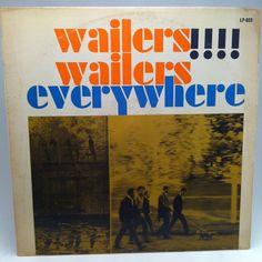 Wailers Wailers Everywhere Vinyl Record LP 1965 Etiquette Garage Rock