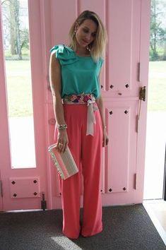 Mexican style, so elegance. Mom Outfits, Classy Outfits, Beautiful Outfits, Summer Outfits, Casual Outfits, Fashion Pants, Love Fashion, Girl Fashion, Fashion Outfits