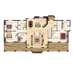 Beaver Homes and Cottages - Sequin Floor Plan - Best one so far!