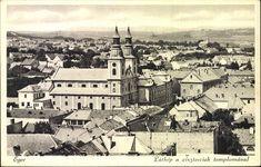 Eger; Látkép a ciszterciek templomával | Képcsarnok | Hungaricana