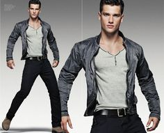 Armani Jeans S/S 2012   not high fashion, but going out outfit idea