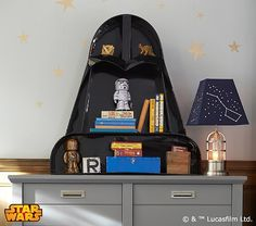 Star Wars™ Darth Vader™ Shelf | Pottery Barn Kids