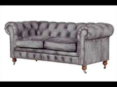 Bellagio Distressed Grey Leather Chesterfield Sofa I want this sofa for our CASCINA in Italy, where can we order it? Distressed Leather Couch, Rustic Leather Sofa, Grey Leather Couch, Best Leather Sofa, Leather Chesterfield, Gray Sofa, Leather Sofas, Black Leather, Sofa Couch