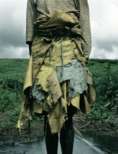 this is not fashion / images taken by photographer Jackie Nickerson/ The series of shots are documentations of the lives of migrant farm workers living in South Africa, Zimbabwe and Malawi.