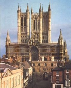 Lincoln Cathedral - I lived near this Cathedral as a child when my Dad was stationed in England. My Mom told me I loved the stained glass windows!