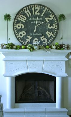 the little cottage on the pond...: Fall mantel...