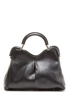 Segolene Pleat Front Satchel Handbag