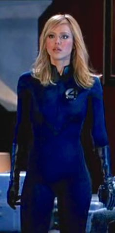 - Jessica Alba as Sue Storm / Invisible Woman - Fantastic Four by Tim Story Jessica Alba Fantastic Four, Fantastic Four Movie, Mister Fantastic, Marvel Girls, Ms Marvel, American Film Festival, Invisible Woman, Minka Kelly, Sleek Hairstyles
