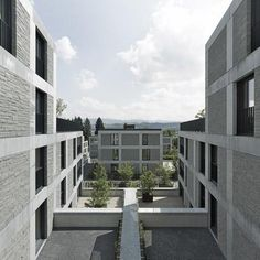 Max Dudler Architekt - Areal Giessen Meilen