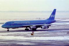 Braniff International Douglas DC-8-51 N813BN