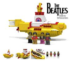 We all live in a yellow submarine #beatles #LEGO http://bit.ly/1gNiX6c