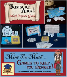 Mint Tin Math: Treasure Ahoy! Is an exciting game designed to aid students in…